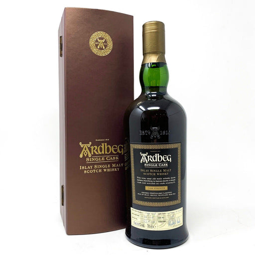 Ardbeg Single Cask No 1189 1998 Vintage Whisky Old and Rare Whisky