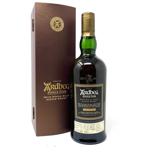 Ardbeg Single Cask No 1190 1998 Vintage Whisky Old and Rare Whisky