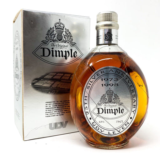 Dimple Silver Anniversary UDV Leven 1973 - 1998 Whisky Old and Rare Whisky