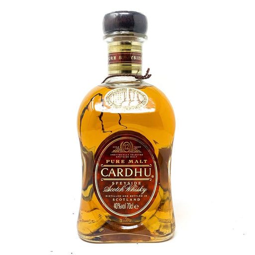 Cardhu Pure Malt Scotch Whisky Whisky Old and Rare Whisky