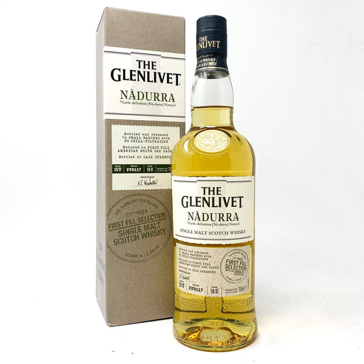 Glenlivet Nadurra First Fill Scotch Whisky Whisky Old and Rare Whisky