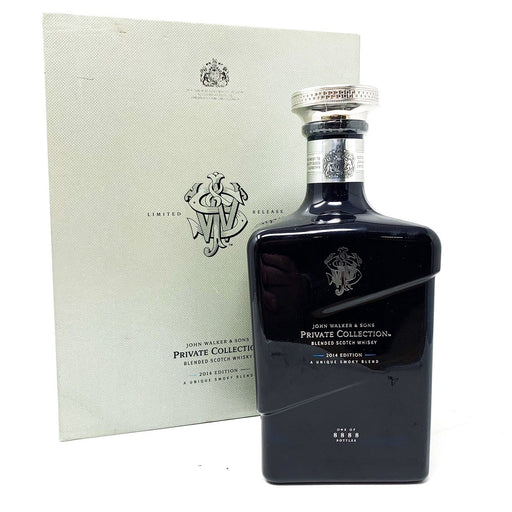 John Walker & Sons Johnnie Walker Private Collection 2014 Edition Whisky Old and Rare Whisky