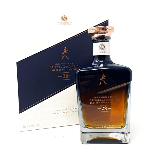 John Walker & Sons Johnnie Walker Private Collection 2018 Edition Whisky Old and Rare Whisky