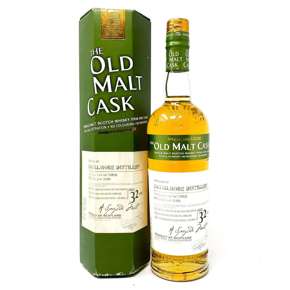 Convalmore 32 Year Old 1975 Old Malt Cask Whisky Old and Rare Whisky
