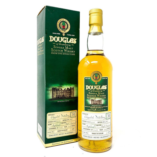 Clynelish 10 Year Old 1998 Douglas of Drumlanrig Whisky Old and Rare Whisky