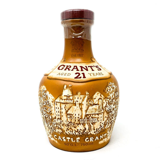 Grant's 21 Castle Grant Blended Whisky 75cl Whisky Old and Rare Whisky