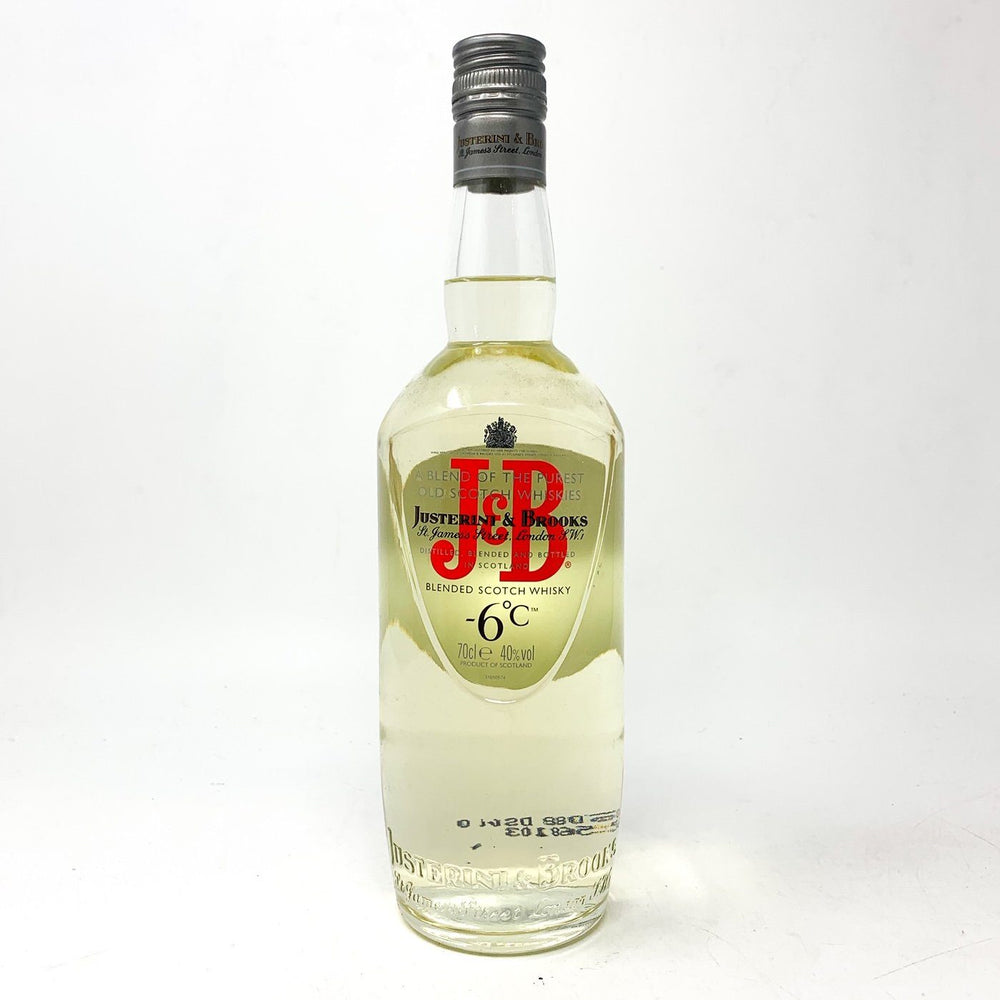 J&B -6 Degrees Celsius Blended Scotch Whisky Whisky Old and Rare Whisky