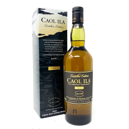 Caol Ila Distiller's Edition 2002 Whisky Old and Rare Whisky