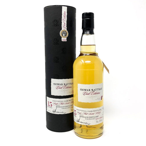 Benriach 15 Year Old Single Cask Dewar Rattray Whisky Old and Rare Whisky
