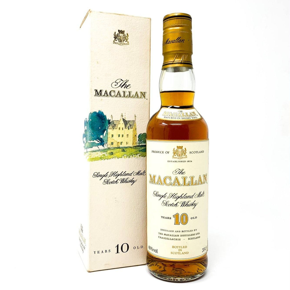 Macallan 10 Year Old 1980s 35cl Whisky Old and Rare Whisky