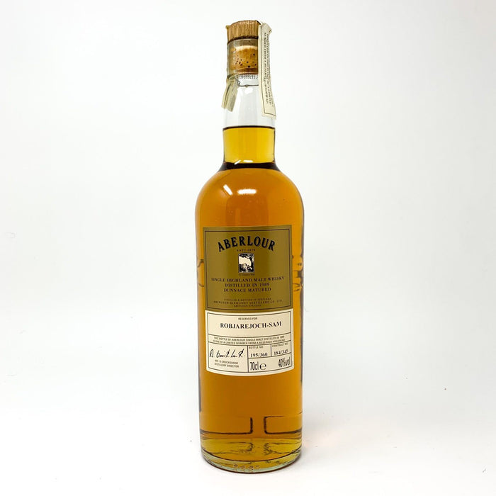 Aberlour 10 Year Old Millennium 1989 Dunnage Matured Whisky Old and Rare Whisky