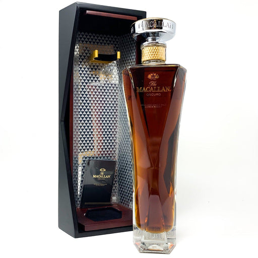 Macallan Oscuro Speyside Single Malt Whisky Old and Rare Whisky