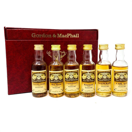 Gordon & Macphail Connoisseuars Choice Miniatures Whisky Old and Rare Whisky
