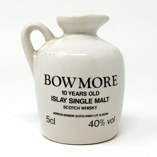 Bowmore Ceramic 5cl Miniature Gateshead Garden Festival 40% abv Whisky Old and Rare Whisky