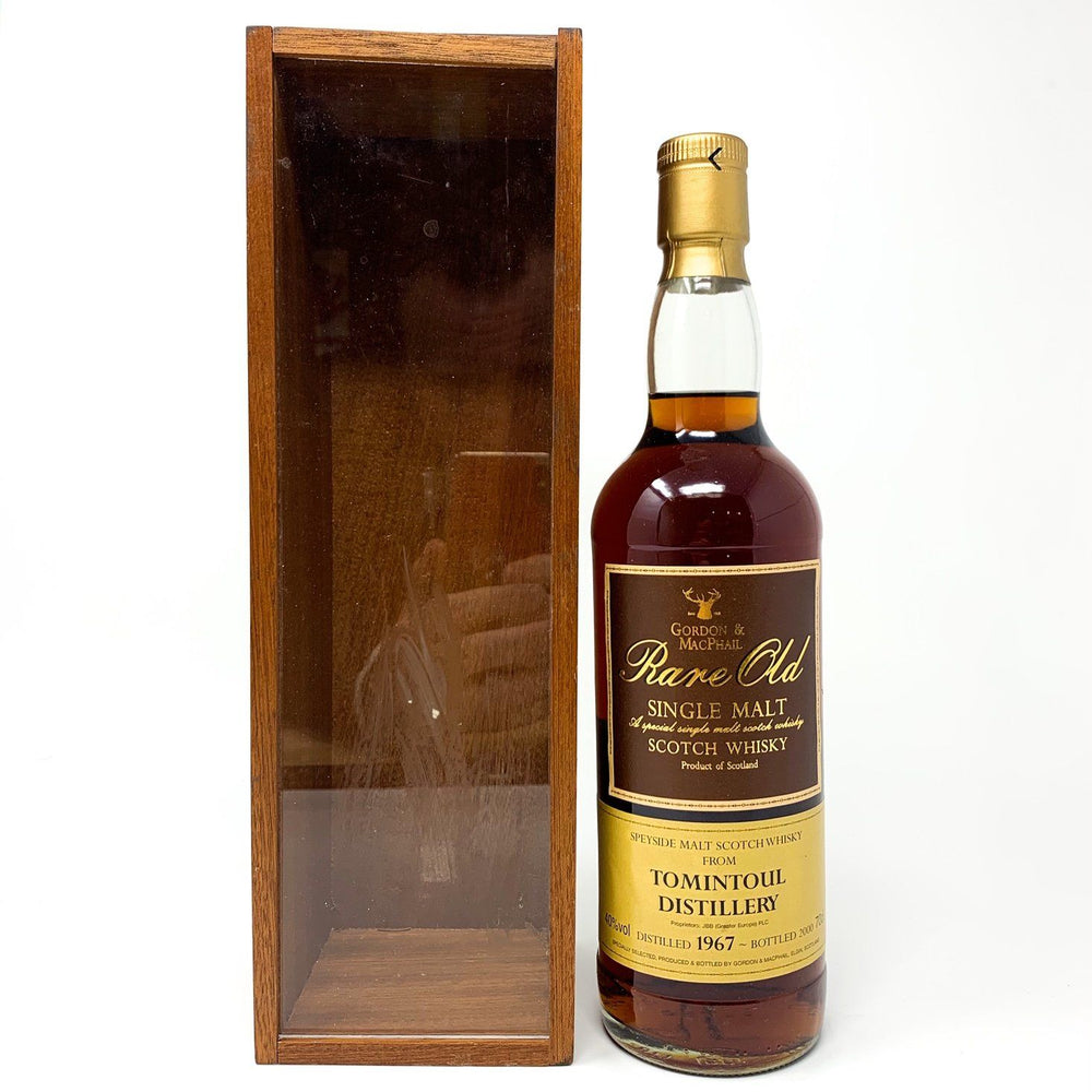 Tomintoul 1967 Single Malt Scotch Whisky 2000 Whisky Old and Rare Whisky