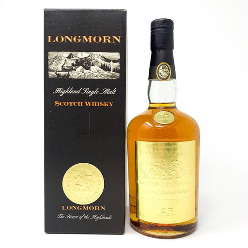 Longmorn 25 Year Old Centenary Edition Whisky Old and Rare Whisky