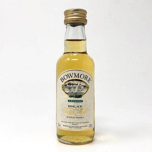 Bowmore Legend 43% ABV 5cl Miniature Whisky Old and Rare Whisky