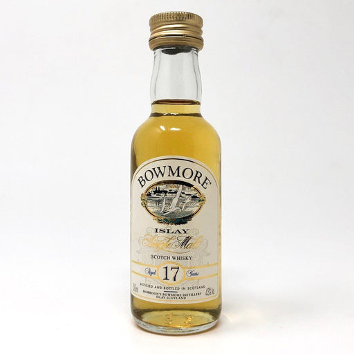Bowmore 17 Year Old 43% ABV 5cl Miniature Whisky Old and Rare Whisky