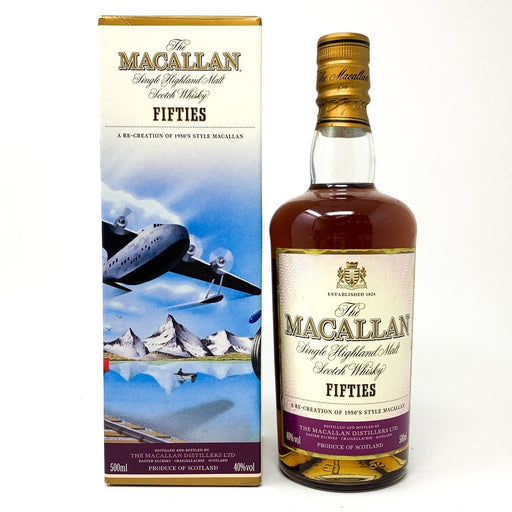 Macallan Decades Travel Series Fifties 50cl Whisky Old and Rare Whisky