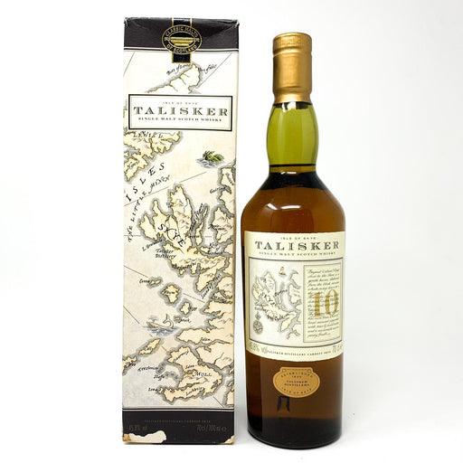 Talisker 10 Year Old Scotch Whisky Old Style Whisky Old and Rare Whisky