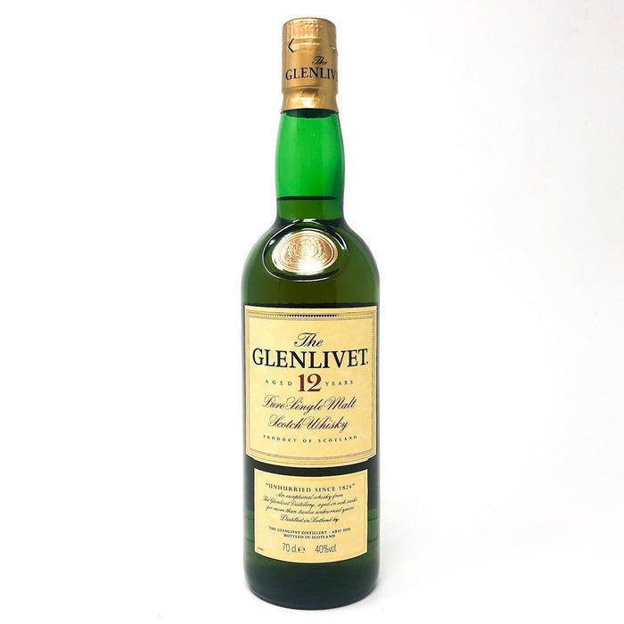 The Glenlivet 12 Year Old Whisky Old and Rare Whisky