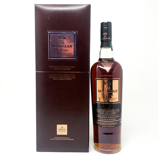 Macallan Oscuro Speyside Single Malt 1824 Whisky Old and Rare Whisky