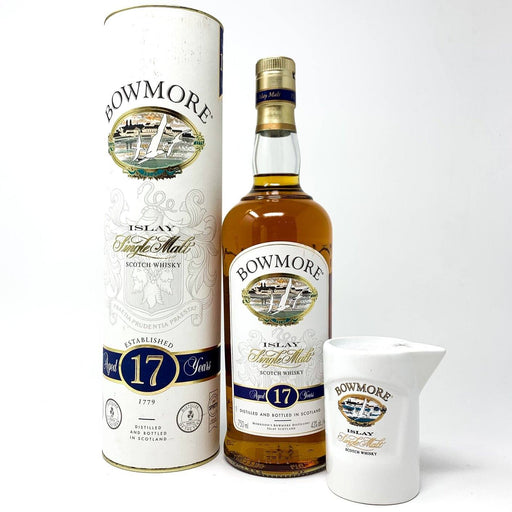 Bowmore 17 Year Old Islay Malt Whisky 75cl Whisky Old and Rare Whisky