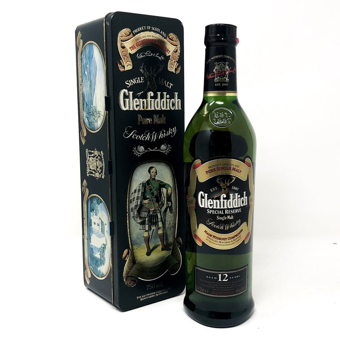 Glenfiddich Clans of Scotland Clan Macpherson Whisky Old and Rare Whisky