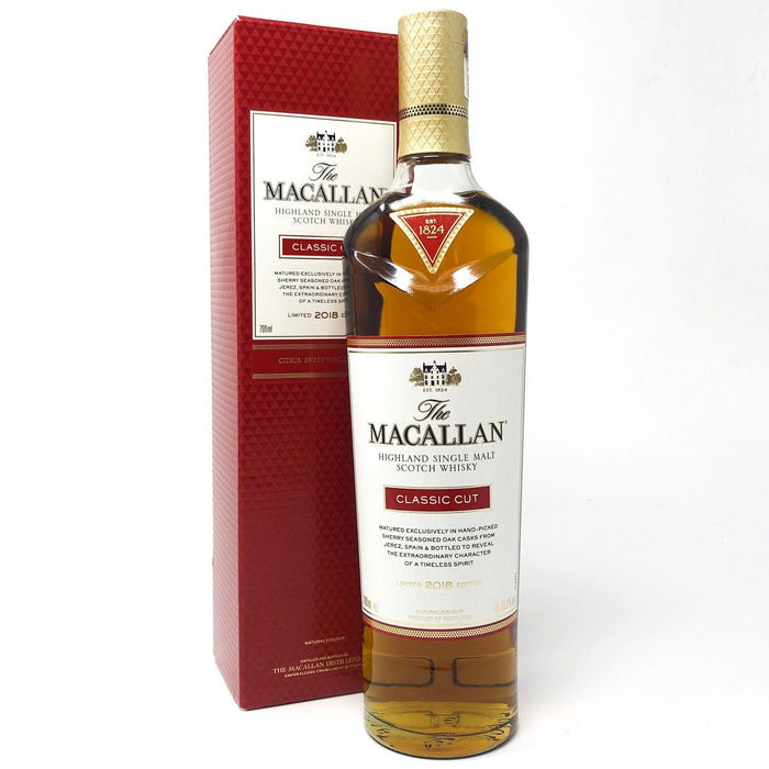Macallan Classic Cut 2018 Release Whisky Old and Rare Whisky