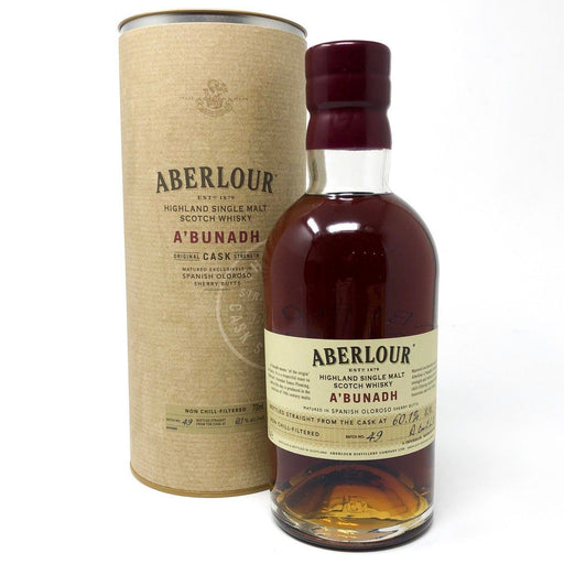 Aberlour A'Bunadh Batch 49 Whisky Old and Rare Whisky