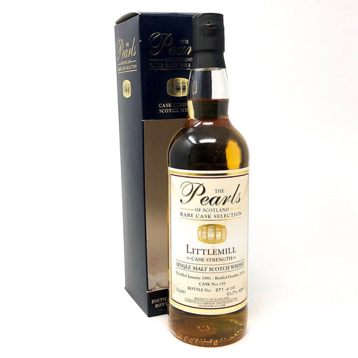 Littlemill 1991 Cask Strength Pearls of Scotland Whisky Old and Rare Whisky