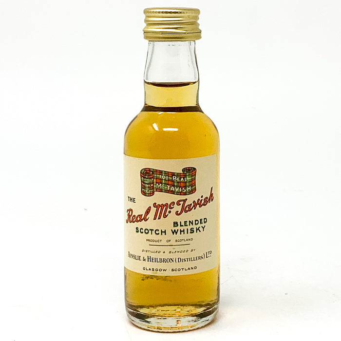 The Real McTavish Blended Scotch Whisky, Miniature, 5cl, 40% ABV
