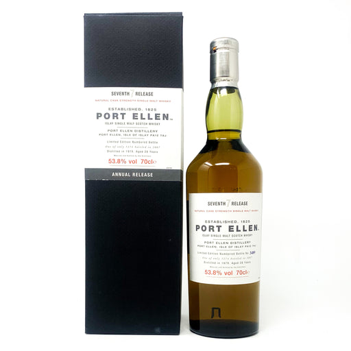Port Ellen 28 Year Old 1979 7th Release Scotch Whisky, 70cl, 53.8% ABV