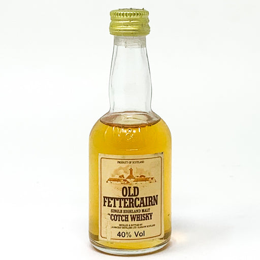 Old Fettercairn Single Highland Malt Scotch Whisky, Miniature, 5cl, 40% ABV