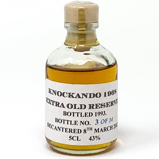 Knockando 1968 Extra Old Reserved Bottle 1993, Miniature, 5cl, 43% ABV