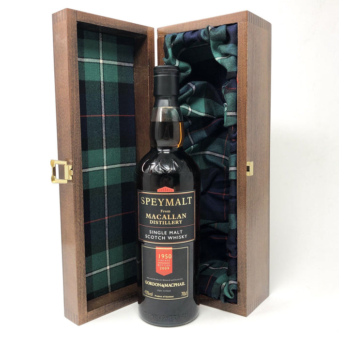 Macallan 1950 Speymalt Bottled 2009 G&M, 70cl, 43% ABV