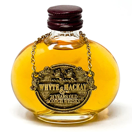 Whyte & Mackay 21 Year Old Scotch Whisky, Miniature, 5cl, 40% ABV