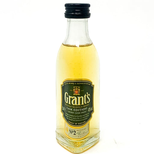 Grants No 2 Cask Edition Blended Scotch Whisky, Miniature, 5cl, 40% ABV
