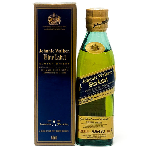 Johnnie Walker Blue Label Scotch Whisky, Miniature, 5cl, 40% ABV