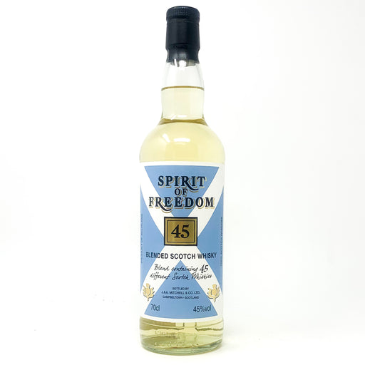 Spirit of Freedom 45 Blended Scotch Whisky, 70cl, 45% ABV