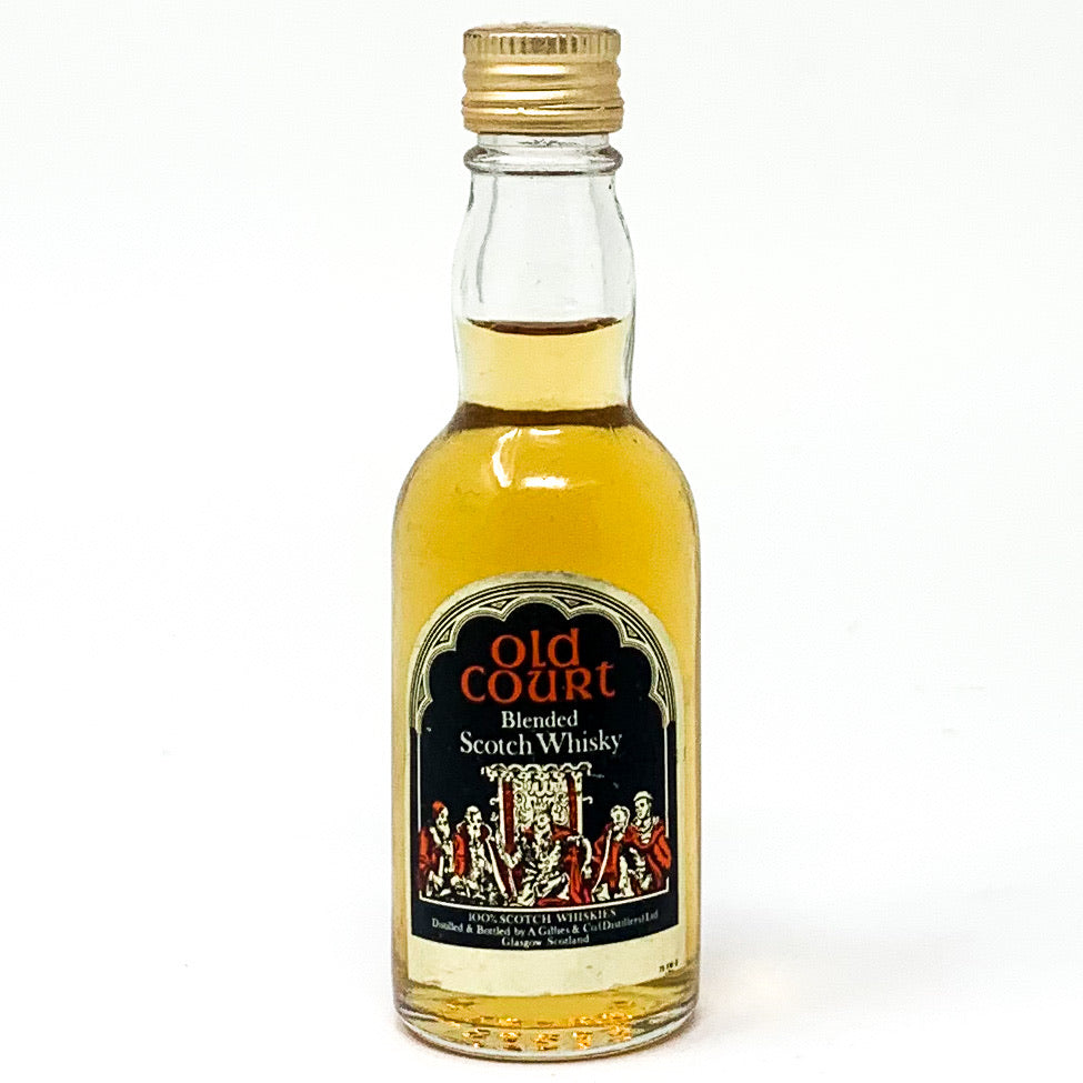 Old Court Blended Scotch Whisky, Miniature, 5cl, 40% ABV
