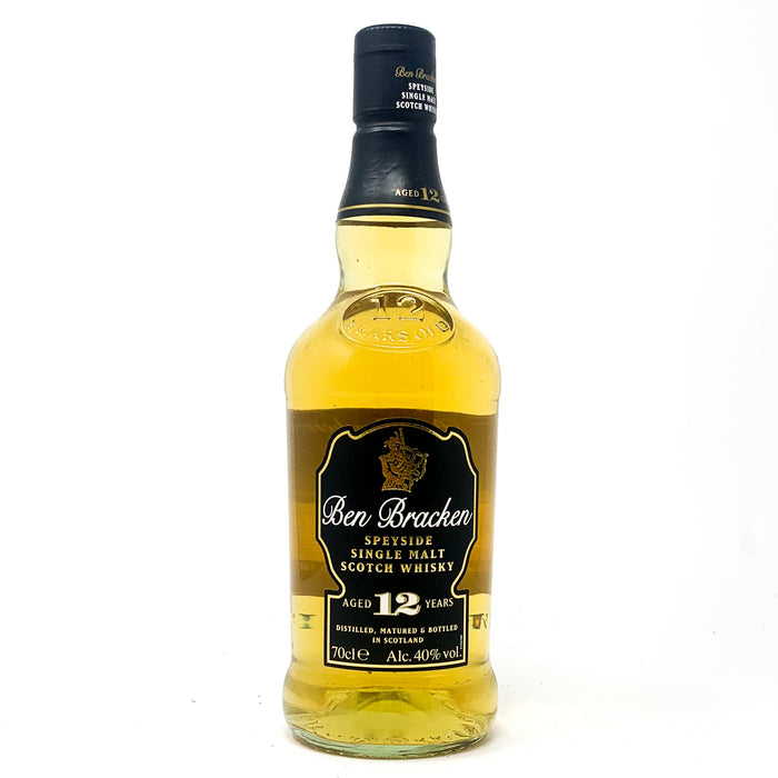 Ben Bracken 12 years old Single Malt Scotch Whisky, 70cl, 40%