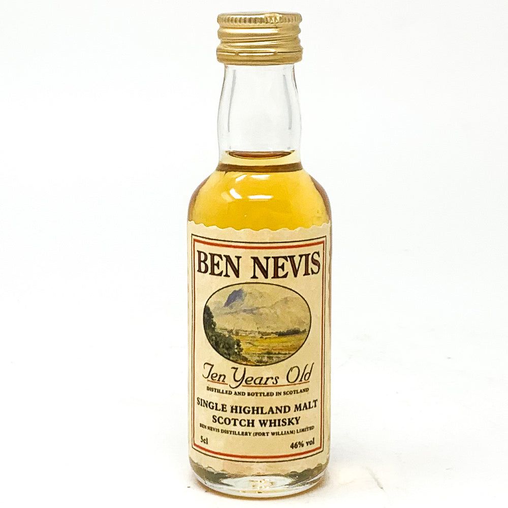 Ben Nevis 10 Year Old Scotch Whisky, Miniature, 5cl, 46% ABV