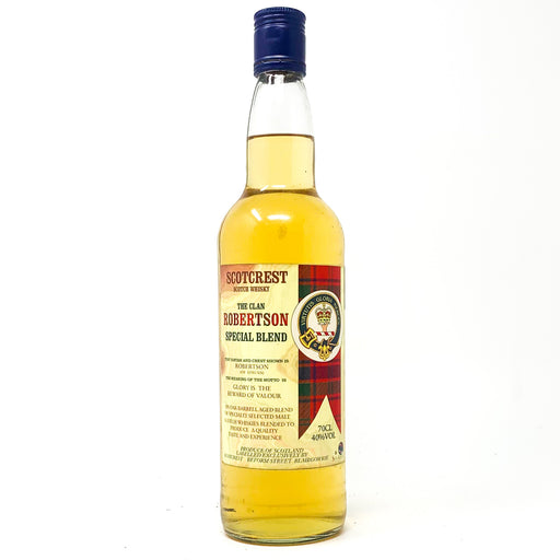 Scotcrest Scotch Whisky, The Clan Robertson Special Blend, 70cl, 40% ABV