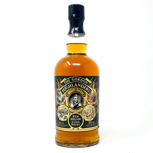 The Gordon Highlanders Rich Mellow Scotch Whisky, 1L, 40% ABV