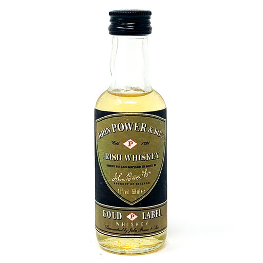 Power Irish Whiskey, Miniature, 5cl, 40% ABV