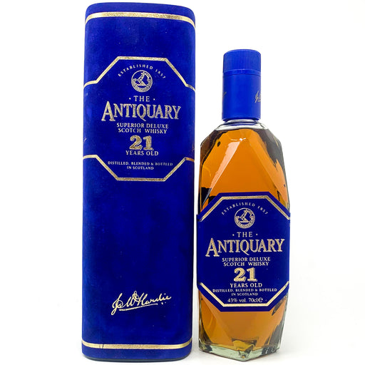 The Antiquary 21 Year Old Superior Deluxe Scotch Whisky, 70cl, 43% ABV