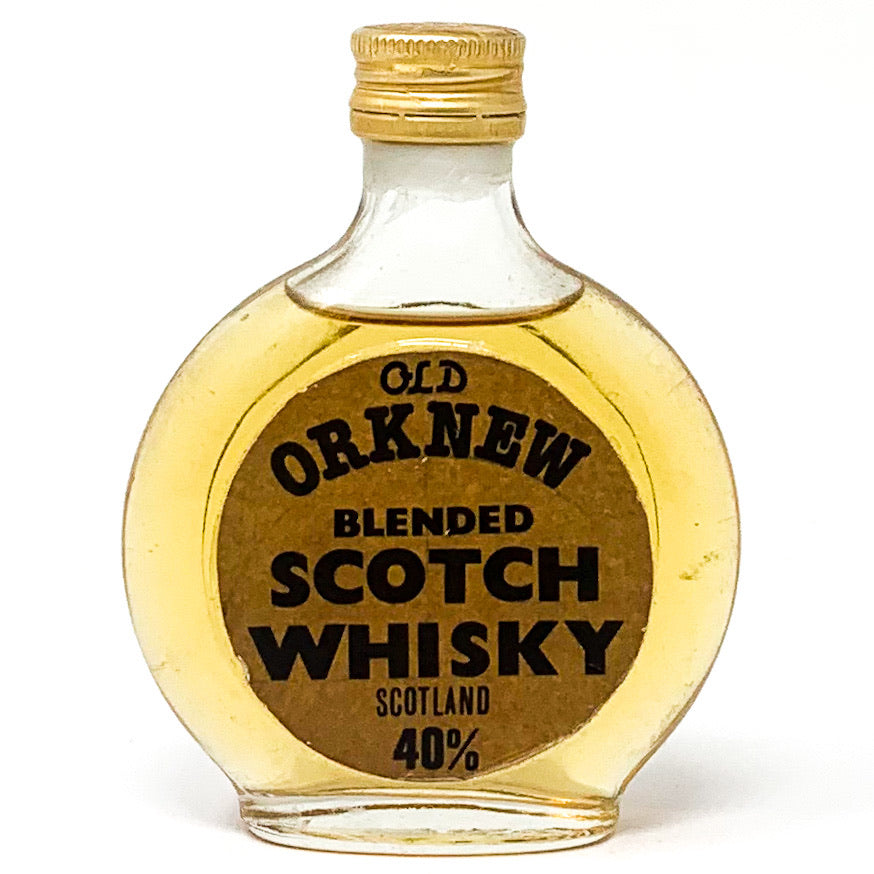 Old Orknew Blended Scotch Whisky, Miniature, 5cl, 40% ABV