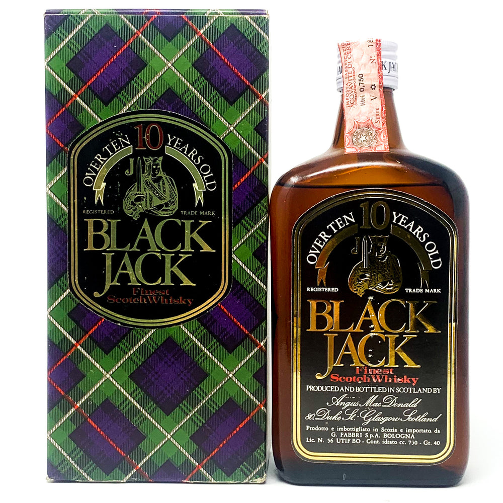Black Jack Finest Scotch Whisky, 10 years old, 75cl, 40% ABV