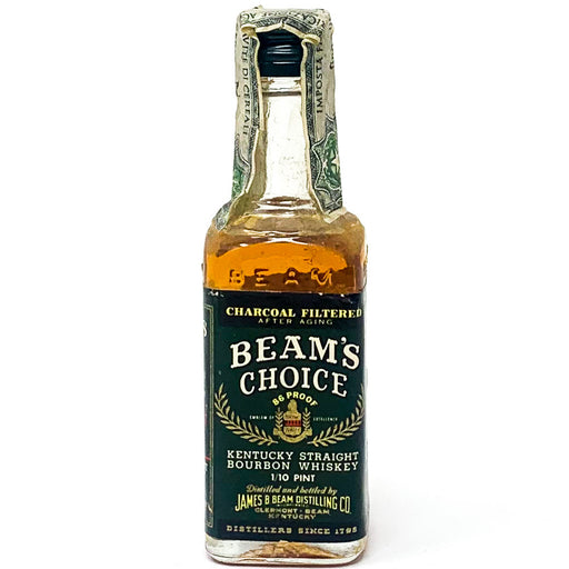 Beam's Choice Kentucky Straight Bourbon Whiskey, Miniature, 5cl, 43% ABV